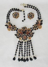 STANLEY HAGLER NECKLACE AND EARRINGS