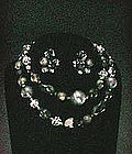 Carnegie Choker and Earrings