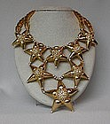 WILLIAM deLILLO STAR BURST NECKLACE