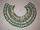 HUGE EGYPTIAN COLLAR BY deLILLO