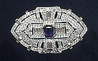 TRIFARI (KTF) DECO BROOCH