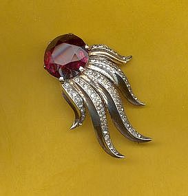 Trifari Sterling Brooch