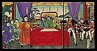 Sino-Japanese War Triptych by Nobukazu