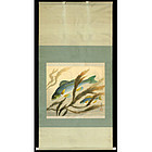 Original Ohno Bakufu Scroll Painting