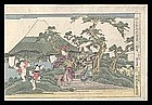 Genuine Eisen Woodblock: Chushingura Act VIII