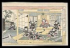 Genuine Eisen Woodblock - Chushingura Act X
