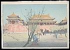 Elizabeth Keith Woodblock - Forbidden City