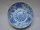 A good blue & white small bowl