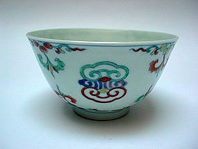 "A Finely ""Doucai"" Bowl (Yongzhen Mark & Of The Period)"