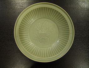 A Large Longquan Celadon Dish