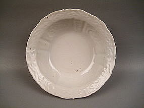 A Fine & Rare Ming Dynasty Kraak Type White Glaze Bowl