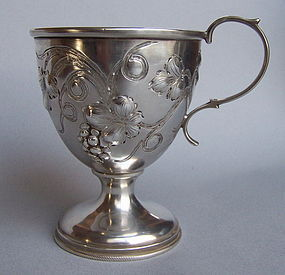 Philadelphia Coin Silver Wine Cup, Bard & Son, 19th C.