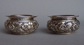 Antique Baltimore Sterling Silver Open Salts