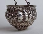 Sterling Silver Teapot Spout Strainer / Basket Strainer