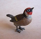 Austrian Vienna Cold Painted Bronze Bird
