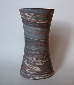 Niloak Mission Ware Ceramic Vase, Signed.