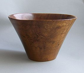 Bob Stocksdale Turned Wood Bowl, 20th century