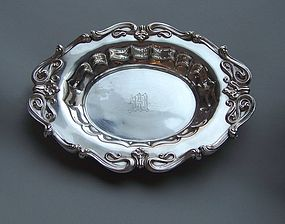 Art Nouveau Sterling Silver Bowl, c1910, Whiting Co.