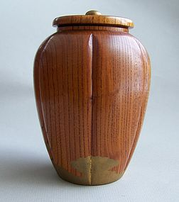 Japanese Natsume  Tea Caddy