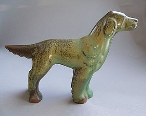 Frankoma Pottery Irish Setter Dog
