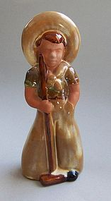 Frankoma Pottery Garden Boy or Farmer Boy