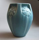 Blue Matte Rookwood Vase, mold 2380
