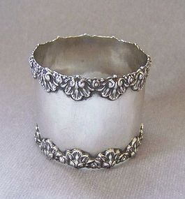 Antique Sterling Silver Napkin Ring, Lebkuecher & Co.