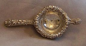 S. Kirk & Son Sterling Silver Repouss� Tea Strainer