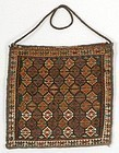 Persian Shasavan or Kurd Sumakh Chanteh Bag, c. 1900.