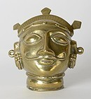 Small Indian Devotional Facial Mask - Mukhavta.