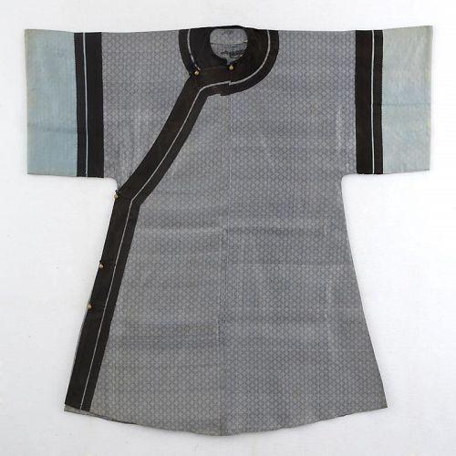 a5f36ccaab A Chinese Man s Informal Summer Silk Robe