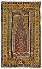 Antique Yahyali Prayer Kilim, Anatolia, 19th C.