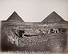 Album with views of Ancient Egypt, Photographs 14 to 25