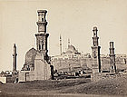 Early Photograph: The Tombs of Mamluks, before 1880.