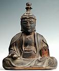 Wooden 11-Headed Kannon Bosatsu Bodhisattva Muromachi