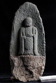 Stone Jizo Bosatsu Bodhisattva Buddha 16/17 c.