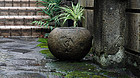 Stone Water Basin Mizubachi Chouzubachi Muromachi 15 c.
