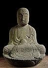 Stone Jizo Bosatsu bodhisattva Buddha Edo
