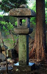 Stone Lantern Ishi-Doro Tea Garden Bonsai Zen Wabi-Sabi