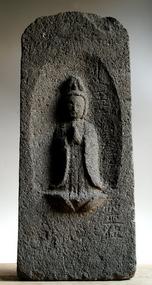 Stone Seishi Bosatsu Bodhisattva Jizo Buddha Kannon 18c