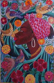 Roger Francois, Haitian Painting, Untitled