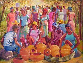 Andre L'Abbe, Pottery Market