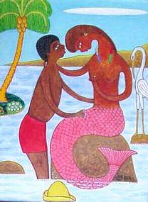 Haitian Artist, S.E.Bottex