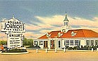 Howard Johnson's, Linen Postcard, Rt 66