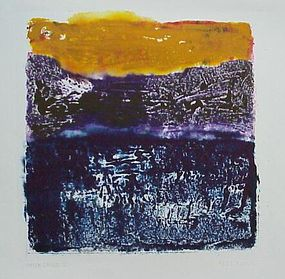 "Emily Mead, Monoprint, ""After Image"""