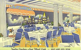 """Starlite Gardens Atop Hotel Utah"""