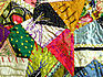 Antique Silk Folk Art Crazy Quilt