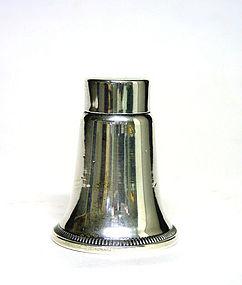 Vintage Sterling Silver Desk Accessory Shaker