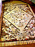 Antique American Folk Art Hooked Rug