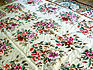 Large Chinese Needlepoint Floral Pattern Rug